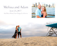 Melissa and Adam Guest Book Proofs