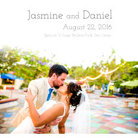 Jasmine and Daniel Wedding Album Proofs